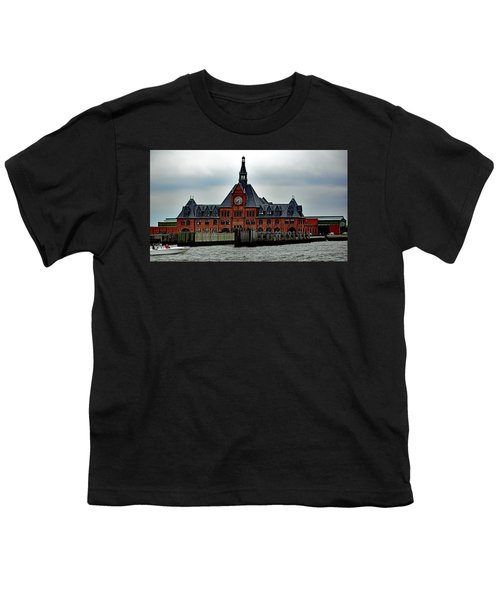 Ellis Island No. 49 Youth T-Shirt by Sandy Taylor
