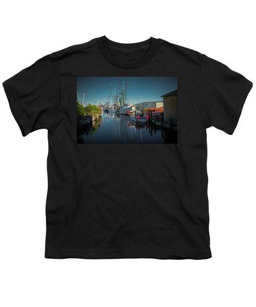 Englehardt,nc Fishing Town Youth T-Shirt