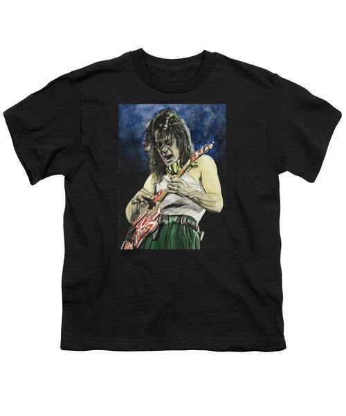 Eruption  Youth T-Shirt by Lance Gebhardt