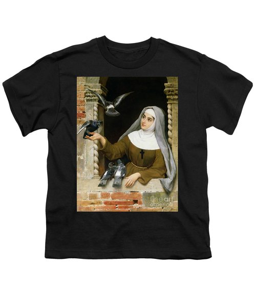 Feeding The Pigeons Youth T-Shirt