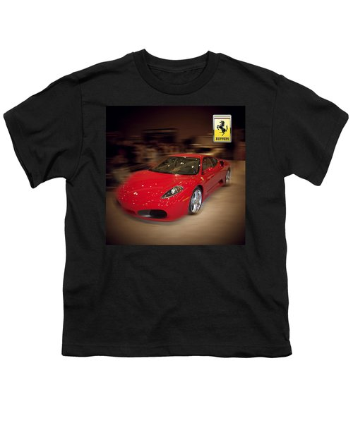 Ferrari F430 - The Red Beast Youth T-Shirt