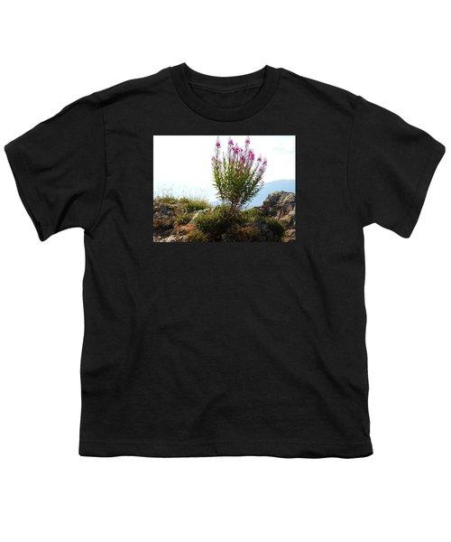 Fireweed Epilobium Angustifolium Youth T-Shirt