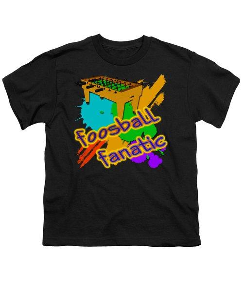 Foosball Fanatic Youth T-Shirt