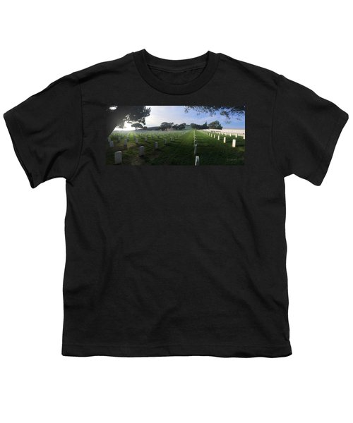 Fort Rosecrans National Cemetery Youth T-Shirt by Lynn Geoffroy