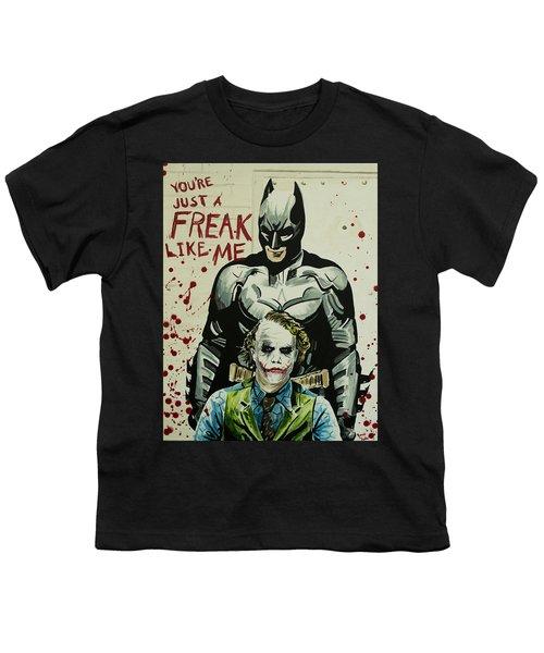 Freak Like Me Youth T-Shirt by James Holko