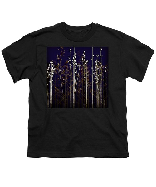 From The Grass We Creep Youth T-Shirt by Nick Heap