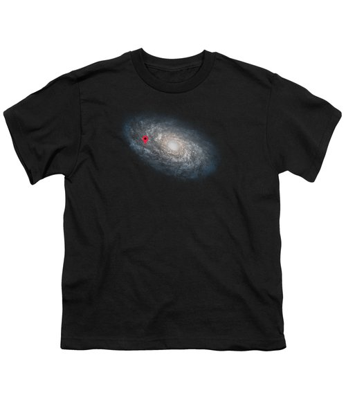 Funny Astronomy Universe  Nerd Geek Humor Youth T-Shirt by Philipp Rietz
