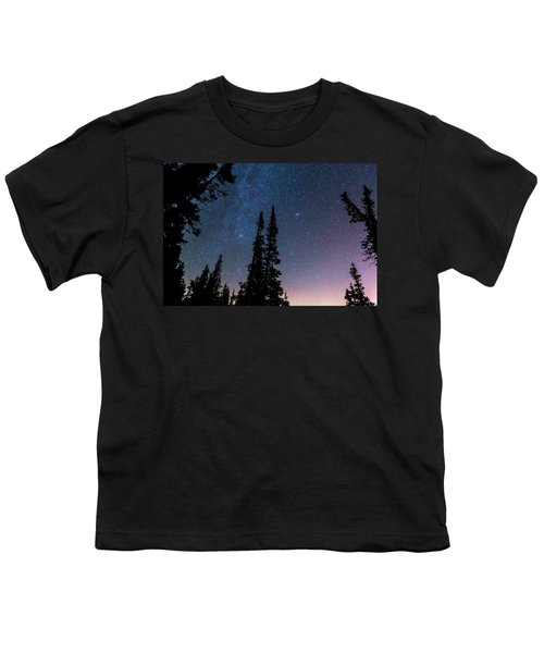 Youth T-Shirt featuring the photograph Getting Lost In A Night Sky by James BO Insogna