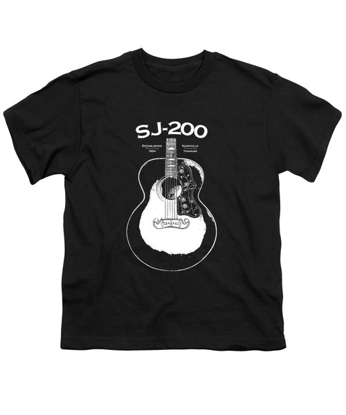 Gibson Sj-200 1948 Youth T-Shirt