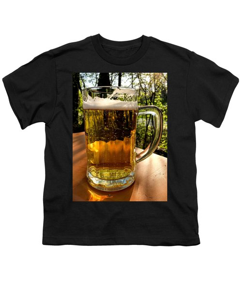 Glass Of Beer Youth T-Shirt
