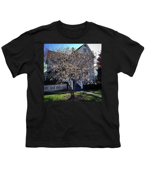 Golden Hour Magnolia   Youth T-Shirt