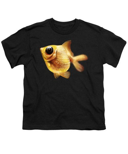 Goldfish Youth T-Shirt by Abdul Jamil