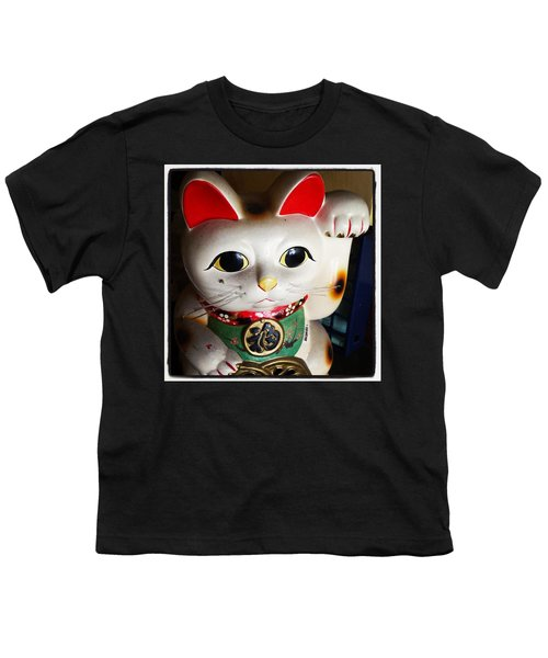 Youth T-Shirt featuring the photograph Good Meowning. #myfab5 by Mr Photojimsf