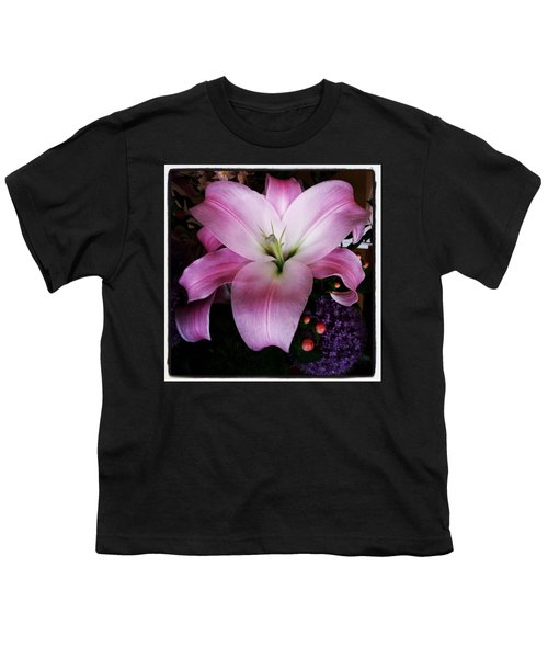 Youth T-Shirt featuring the photograph Gorgeous Flowers. Real. I Think They by Mr Photojimsf