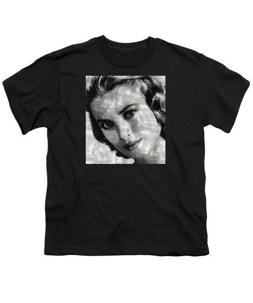 Grace Kelly Youth T-Shirt by Mary Bassett