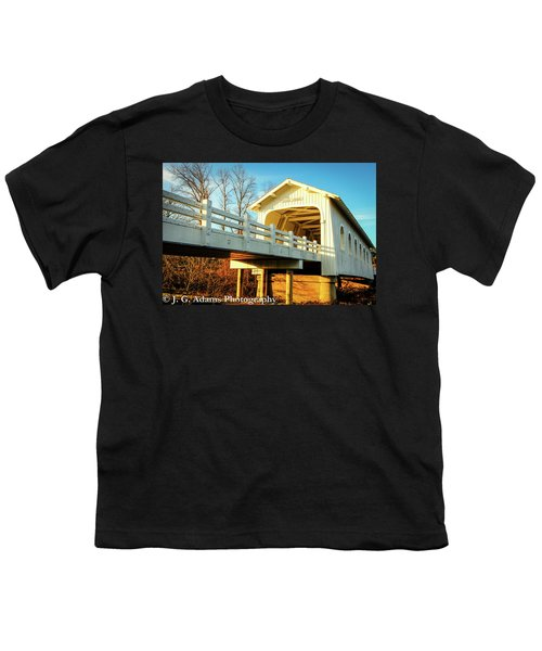 Grave Creek Covered Bridge Youth T-Shirt