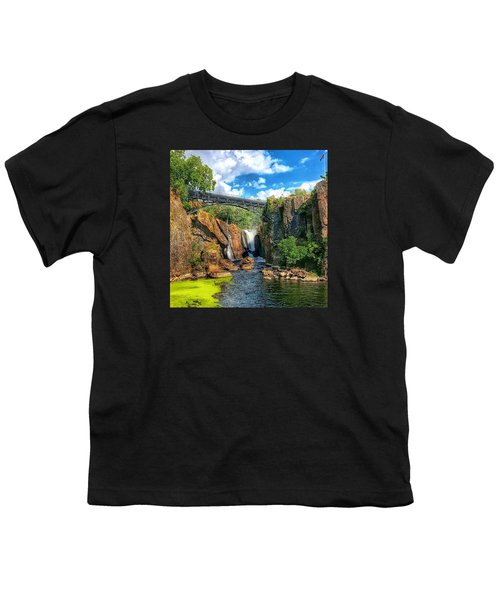 Great Falls In Paterson Youth T-Shirt