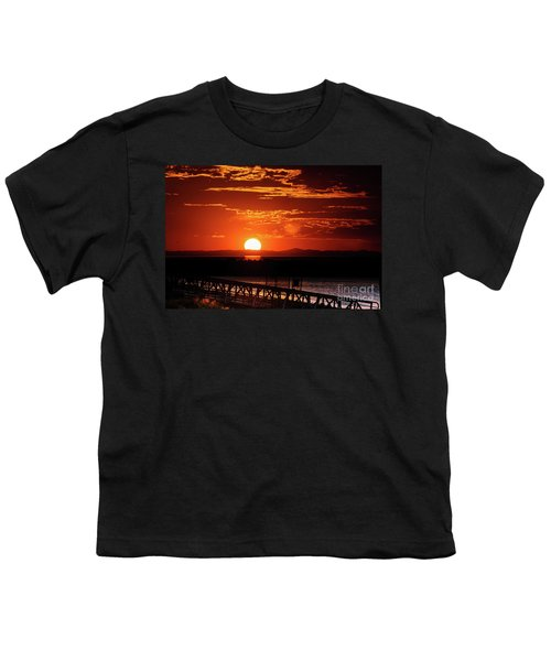 Great Salt Lake Sunset Youth T-Shirt