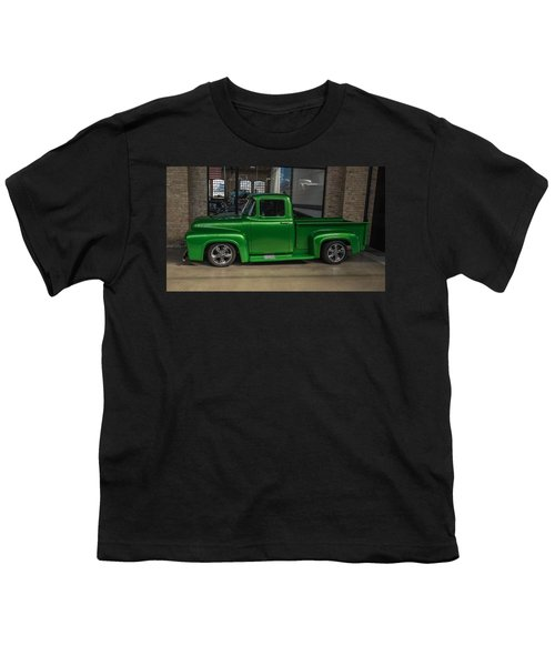 Green Car Youth T-Shirt