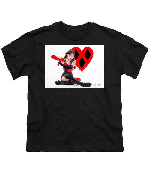 Harley Quinn Ready To Swing Youth T-Shirt