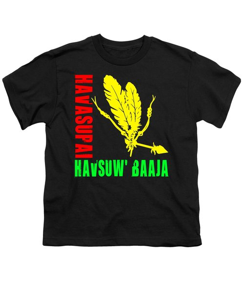 Havasupai Youth T-Shirt by Otis Porritt