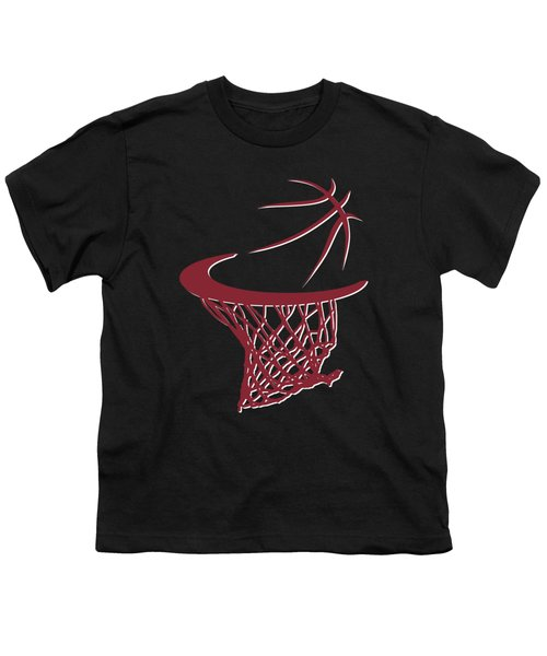 Heat Basketball Hoop Youth T-Shirt