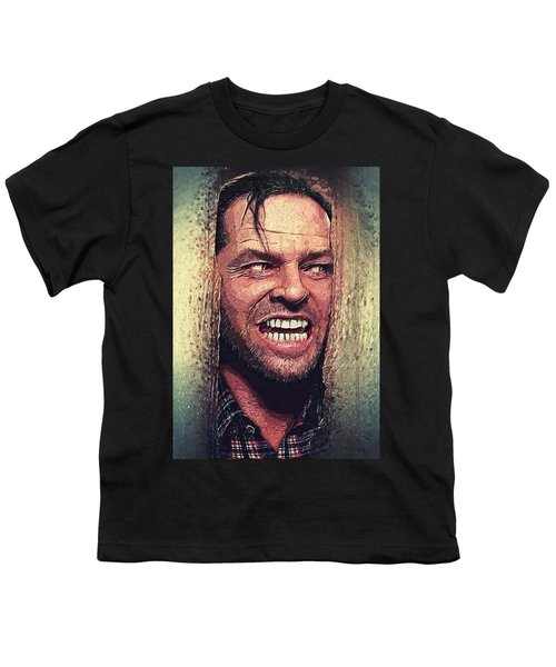 Here's Johnny - The Shining  Youth T-Shirt