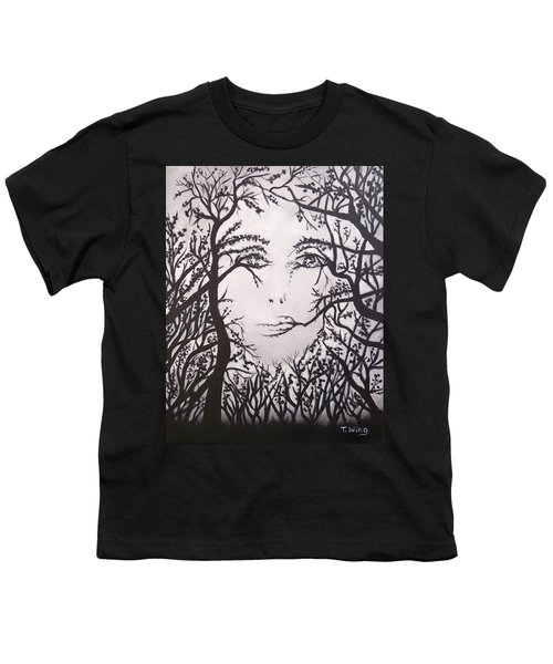 Hidden Face Youth T-Shirt