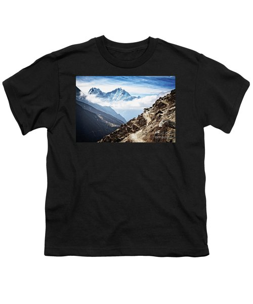 High In The Himalayas Youth T-Shirt