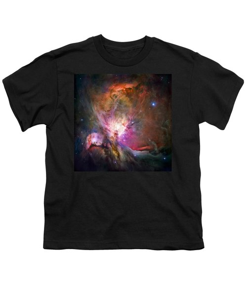 Hubble's Sharpest View Of The Orion Nebula Youth T-Shirt by Adam Romanowicz