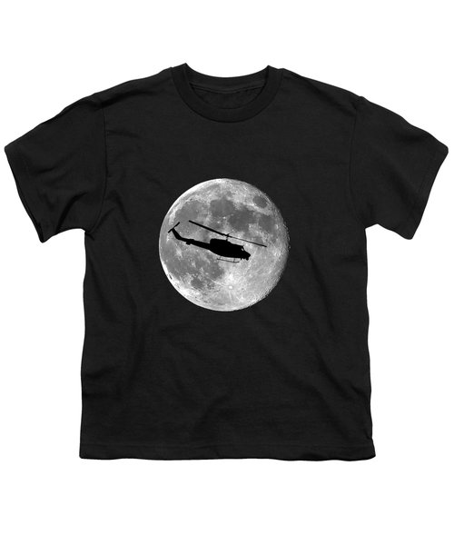 Huey Moon .png Youth T-Shirt by Al Powell Photography USA