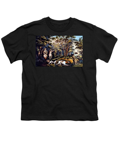 Hunting: Woodcock, 1852 Youth T-Shirt