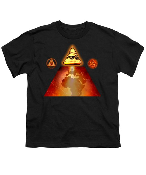 Illuminati World By Pierre Blanchard Youth T-Shirt