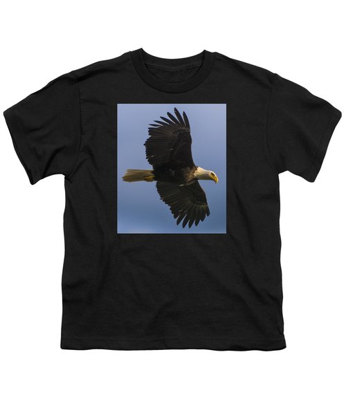 Youth T-Shirt featuring the photograph In Flight by Gary Lengyel