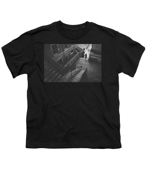 In Pursuit Of The Devil On The Stairs Youth T-Shirt by Joseph Westrupp