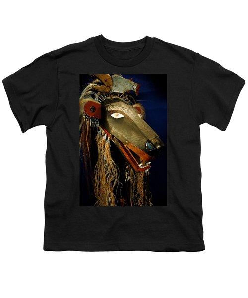 Indian Animal Mask Youth T-Shirt