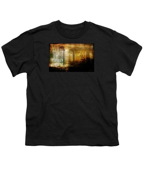 Inside Where It's Warm Youth T-Shirt by Bellesouth Studio