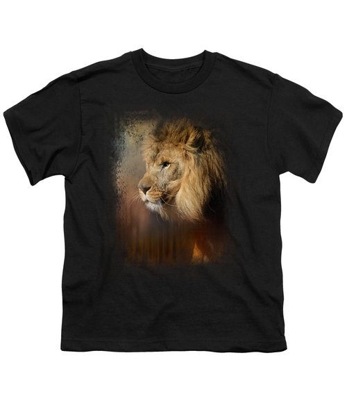 Into The Heat Youth T-Shirt by Jai Johnson