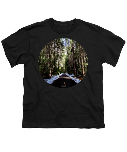 Into The Woods Youth T-Shirt by Adam Morsa