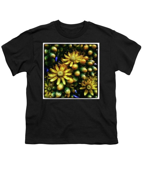 Youth T-Shirt featuring the photograph Irish Rose. Also Known As Pinwheel by Mr Photojimsf