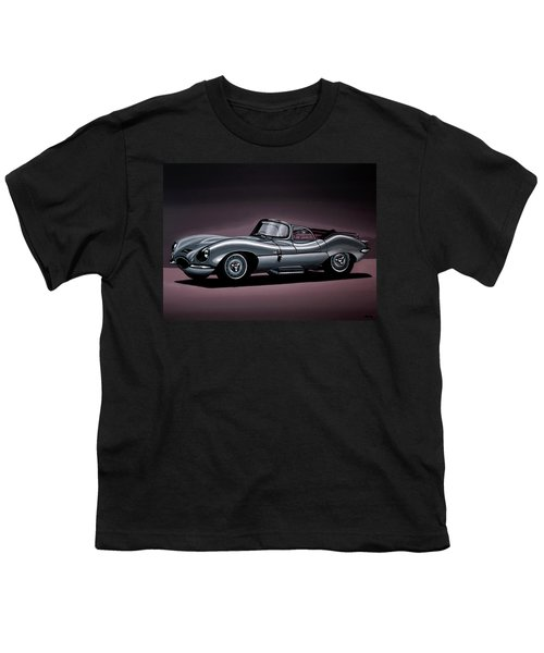 Jaguar Xkss 1957 Painting Youth T-Shirt