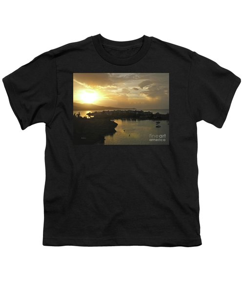 Jamaica Sunset Bay Youth T-Shirt