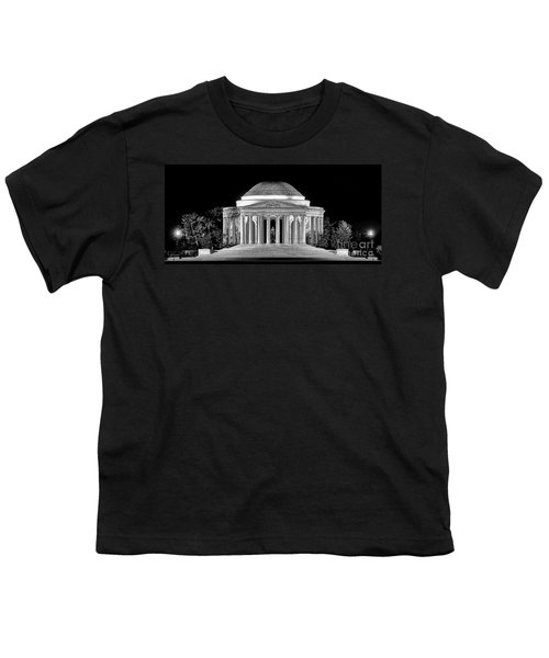 Jefferson Memorial Lonely Night Youth T-Shirt