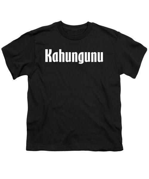 Kahungunu Youth T-Shirt