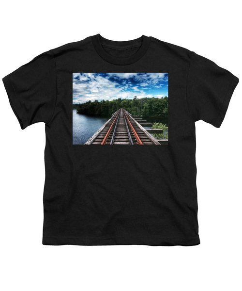 Kennebec River Trestle Youth T-Shirt