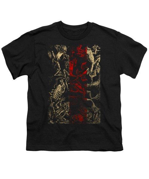 Kingdom Of The Golden Amphibians Youth T-Shirt by Serge Averbukh