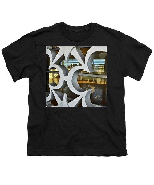 Kitsch Urban Details Youth T-Shirt by Carlos Alkmin
