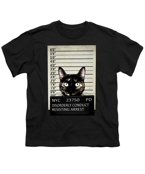 Kitty Mugshot Youth T-Shirt