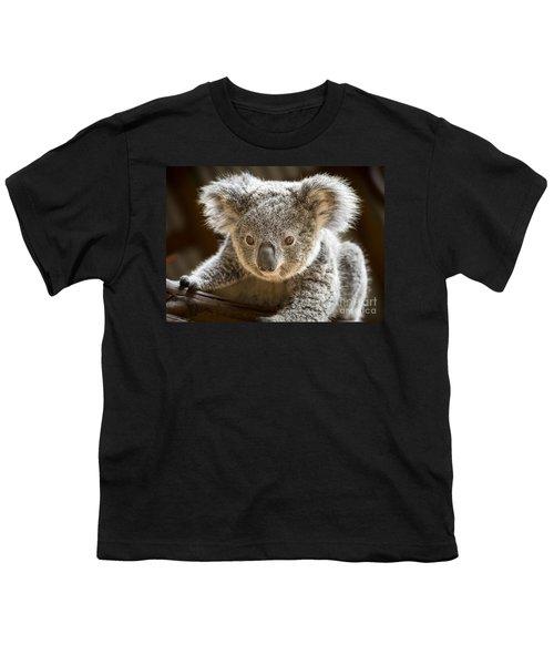 Koala Kid Youth T-Shirt by Jamie Pham
