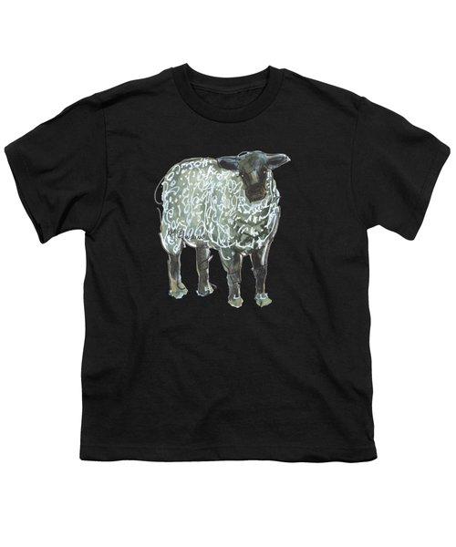 Lamb Art An032 Youth T-Shirt